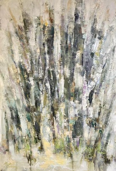 Chosen, original 53x36 abstract expressionism landscape