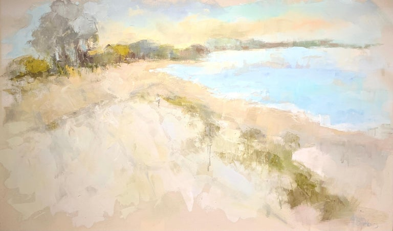 Allison's softly rendered and beautifully painted landscapes and waterscapes capture light, depth and the constantly shifting movement of water, flora and fauna.  Her impasto technique incorporates the texture that only comes from the liberal use of