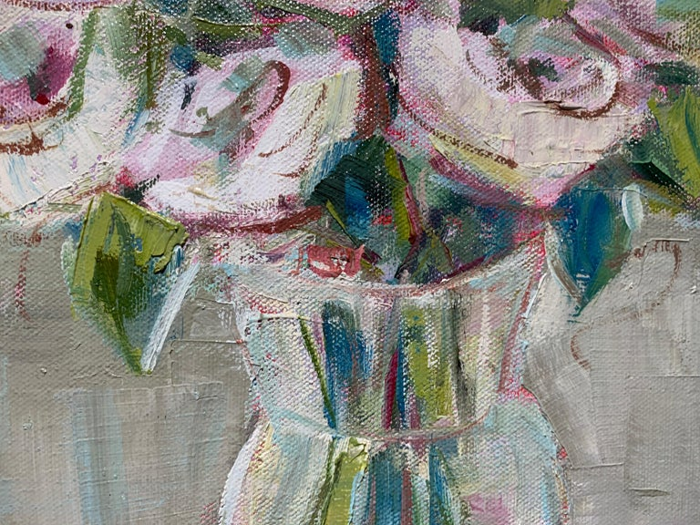 One and Only by Allison Chambers, Oil on Canvas Impressionist Painting For Sale 4