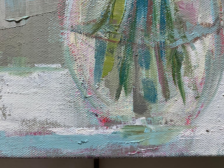 One and Only by Allison Chambers, Oil on Canvas Impressionist Painting For Sale 5