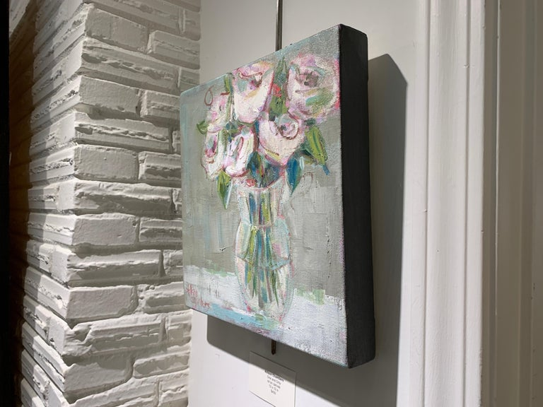 One and Only by Allison Chambers, Oil on Canvas Impressionist Painting For Sale 6