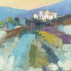 Out of Nowhere by Allison Chambers, Oil on Canvas Impressionist French Landscape