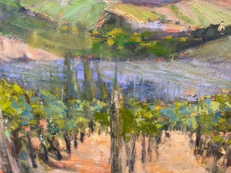 The Hills Are Alive, original 30x40 impressionist Italian landscape 1
