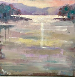 Twilight by Allison Chambers, Framed Impressionist Painting