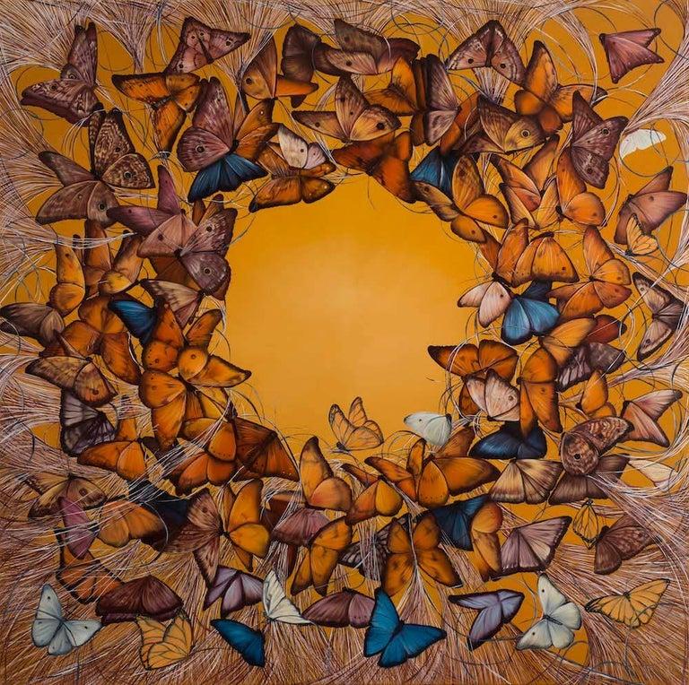 Allison Green Animal Painting - Circadian Clock