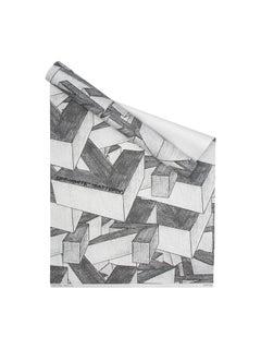 Off-White Wallpaper Arrows White Grey