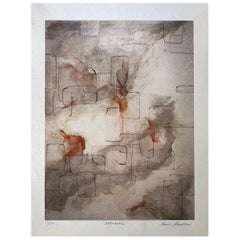 """Allusion"" Archival Print, Textured Watercolor Paper, Limited Edition, Abstract"