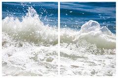 Slick it Back, Diptych, Fine Art Photography, Framed in Plexiglass, Signed