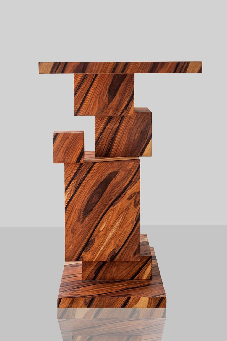 Alma Console Made of Palo Santo Wood, Limited Edition of 7- Contemporary Design For Sale 4