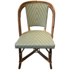 Alma Side Chairs, Mint and Putty Weave