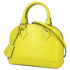 almaBB  Womens  handbag M40981  Pistache Leather
