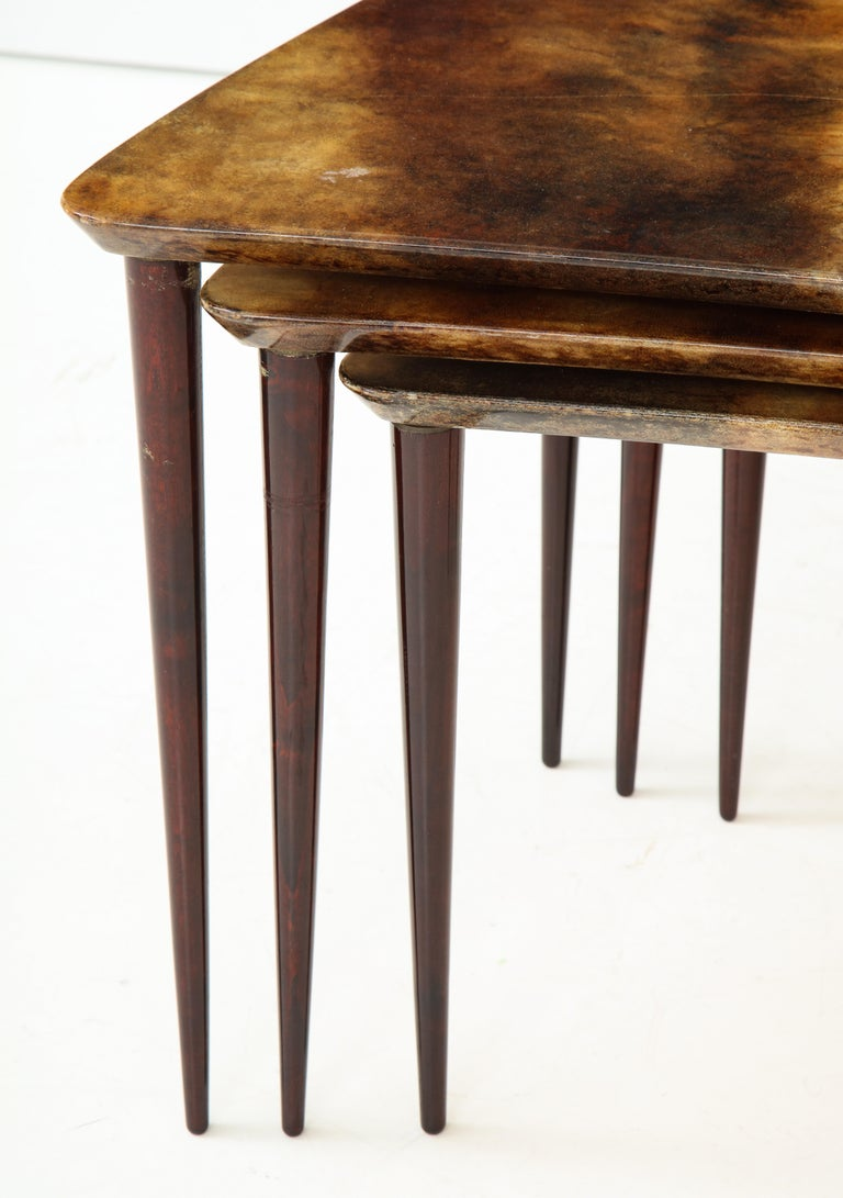 Alo Tura Nesting Tables, Italy For Sale 3