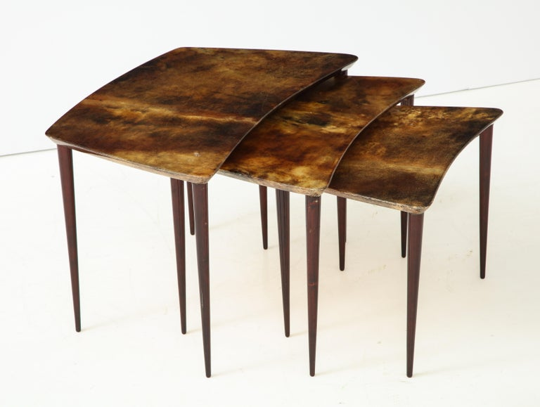 Alo Tura Nesting Tables, Italy For Sale 4