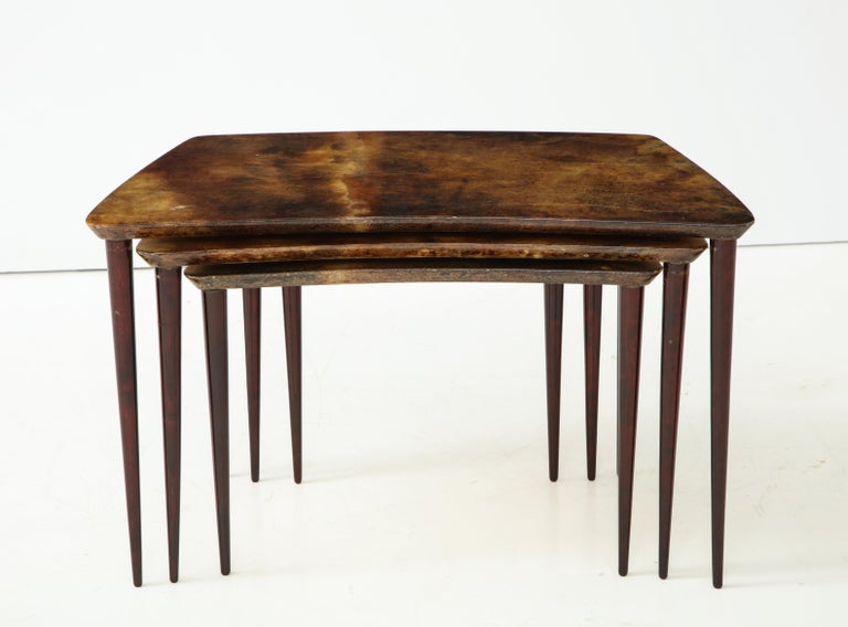 Alo Tura Nesting Tables, Italy For Sale 2