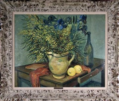 Still life with Lemons and Flowers