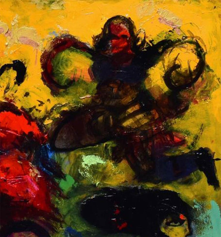 Untitled - Contemporary Painting by Aloke Sardar