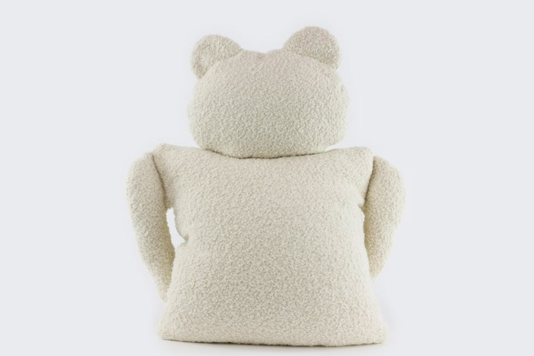 This unique and fun bear has the body of a 20