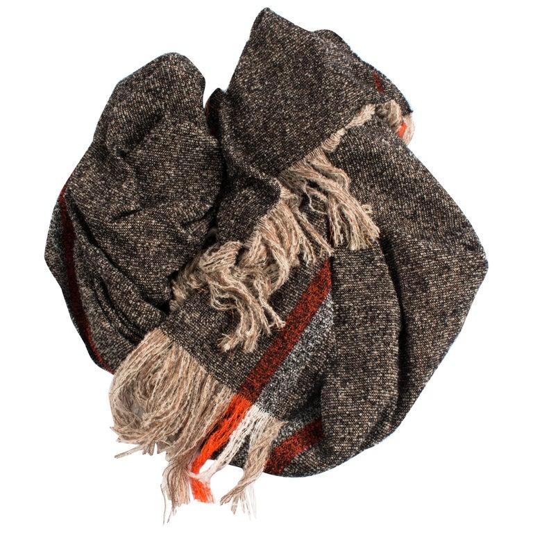 Handwoven Alpaca Throw For Sale