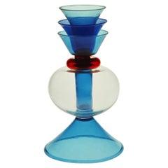 Alpha Centaury Glass Flower Vase, by Marco Zanini from Memphis Milano