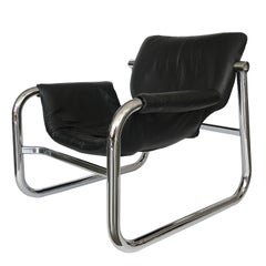 """Alpha"" Lounge Chair by Maurice Burke for Pozza"