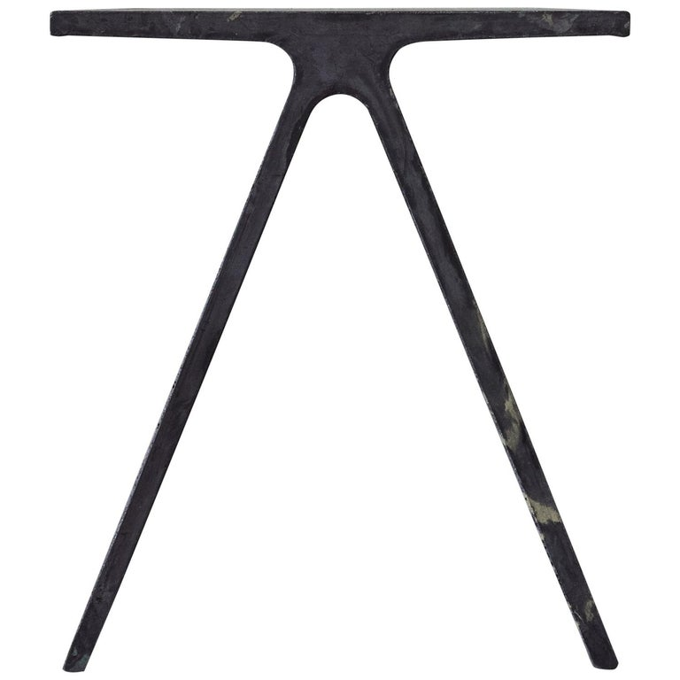 Alpha Q End Table or Stool, Concrete for Indoor or Outdoor by Mtharu For Sale