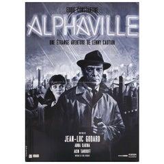 Alphaville R2012 French Petite Film Poster