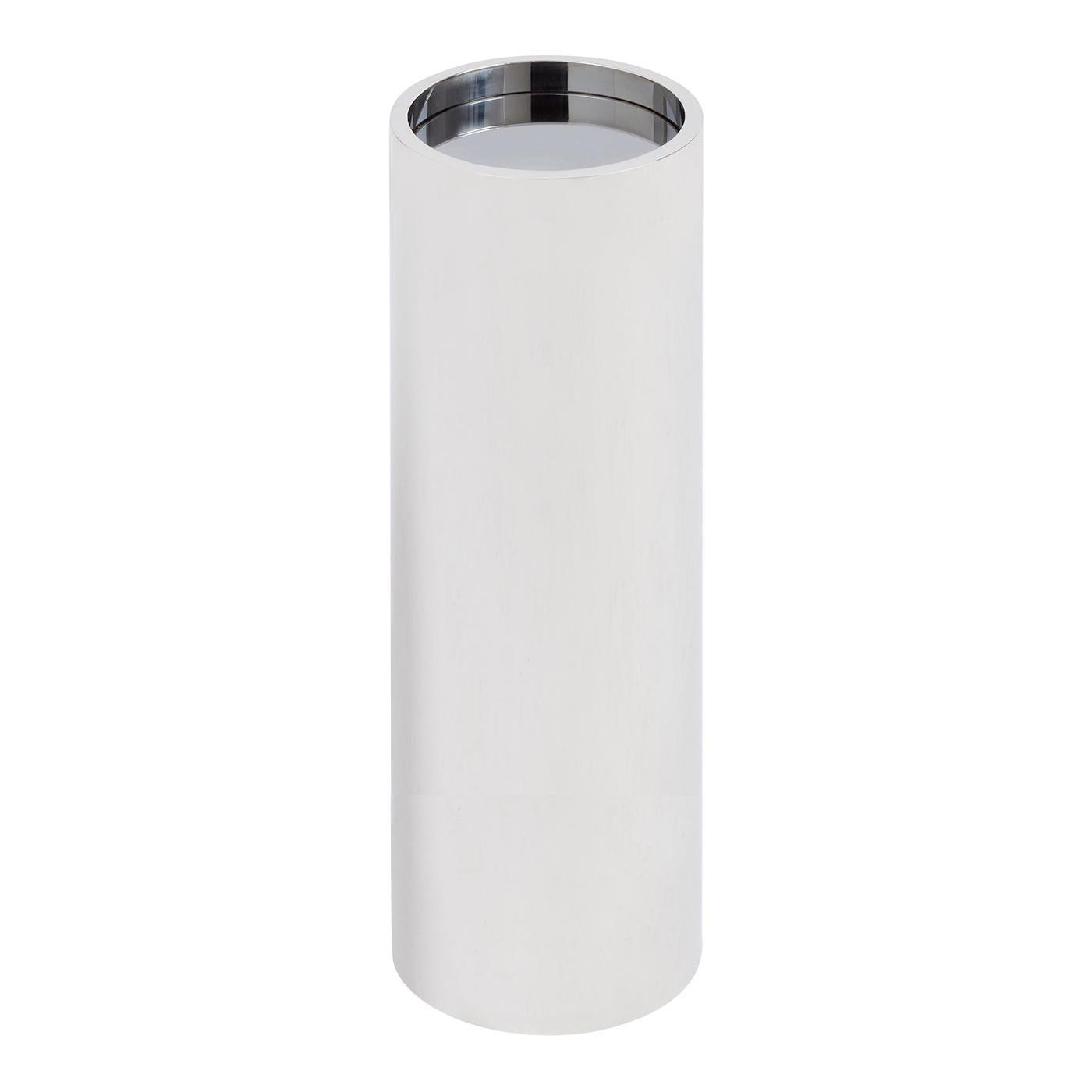 Alphaville Stainless Steel Pedestal