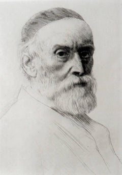 Portrait of George Frederick Watts