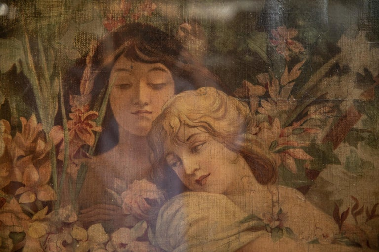 Alphonse Mucha Chromolithograph. After early education in Brno, Moravia, and work for a theatre scene-painting firm in Vienna, Mucha studied art in Prague, Munich, and Paris in the 1880s. He first became prominent as the principal advertiser of the