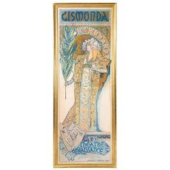 "Alphonse Mucha ""Gismonda"" Lithograph"