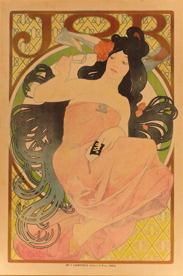 French Alphonse Mucha Original
