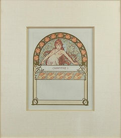 "From: Ilsee Princess of Tripoli Recto: ""Dream Woman"" Verso: ""Visions"" Lithograph"