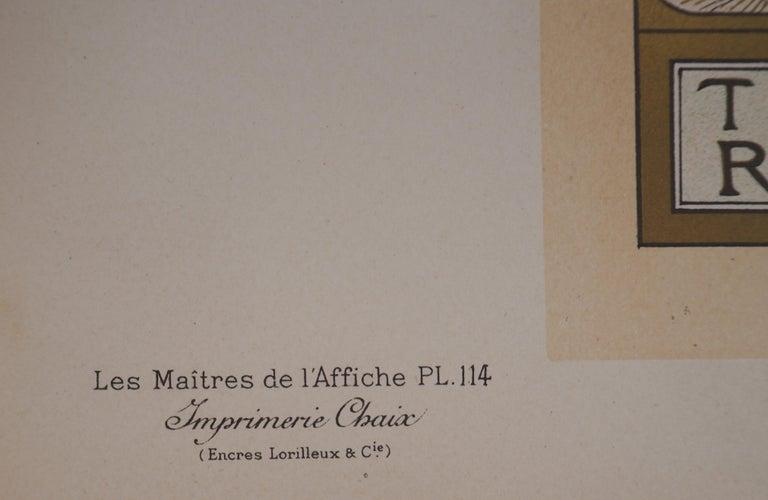 Lorenzaccio (Sarah Bernhardt) - Lithograph (Les Maîtres de l'Affiche), 1897 For Sale 5