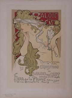"""Muse - Lithograph (from """"Les Maîtres de l'Affiche"""")"""