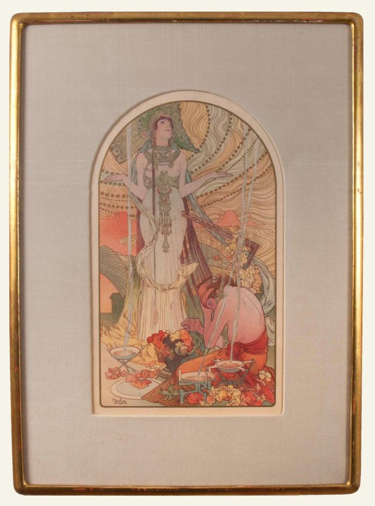 Salammbo - Print by Alphonse Mucha