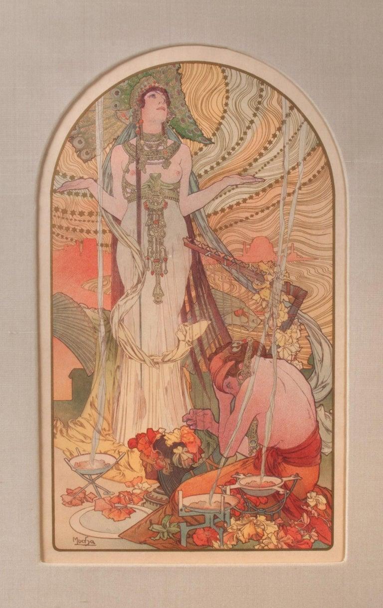 Alphonse Mucha Figurative Print - Salammbo