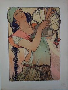 Salomé - Original lithograph (Catalog raisonne Bridges #R 10c), 1897