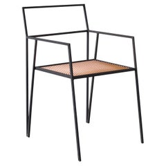 ALPINA Contemporary Dining Chair in Steel by Ries