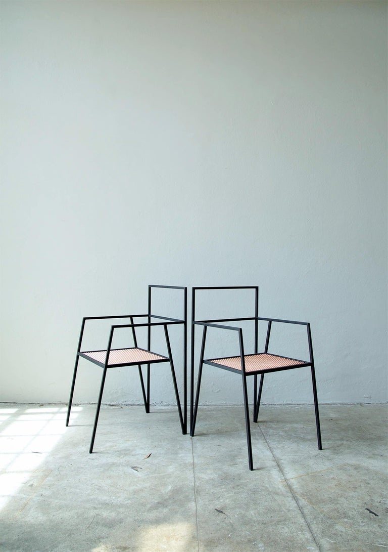 ALPINA Minimalist Steel Chair by Ries For Sale 1