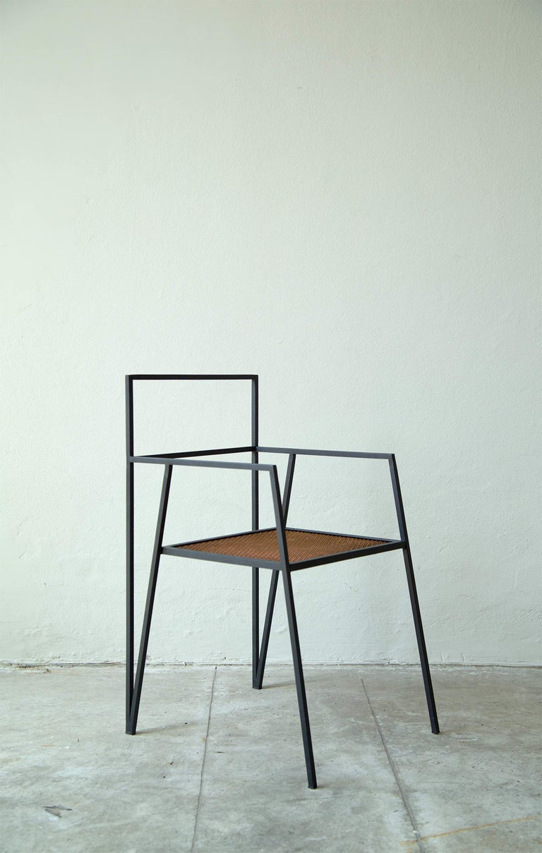 ALPINA Minimalist Steel Chair by Ries For Sale 3