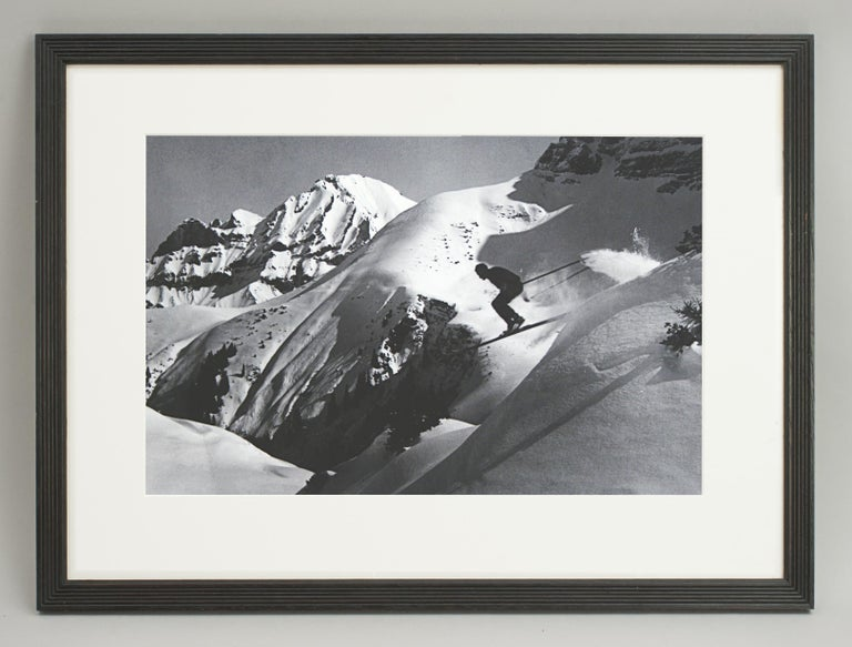 Alpine Ski Photograph, 'THE JUMP' Taken from 1930s Original For Sale 4