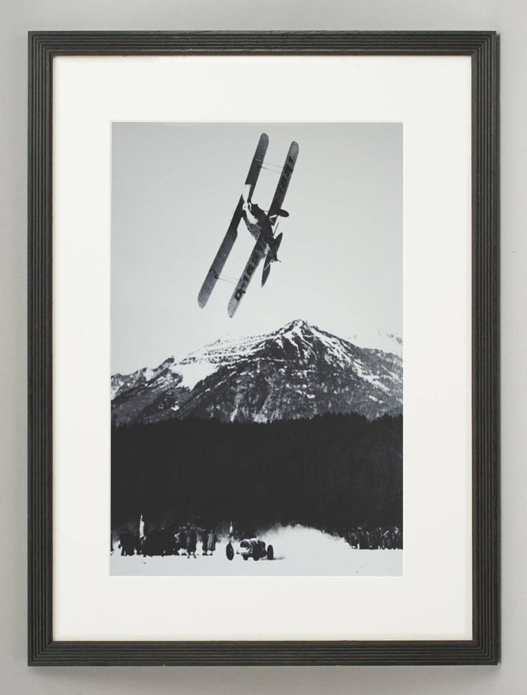 Alpine Ski Photograph, 'The Race' Taken from Original 1930s Photograph For Sale 5