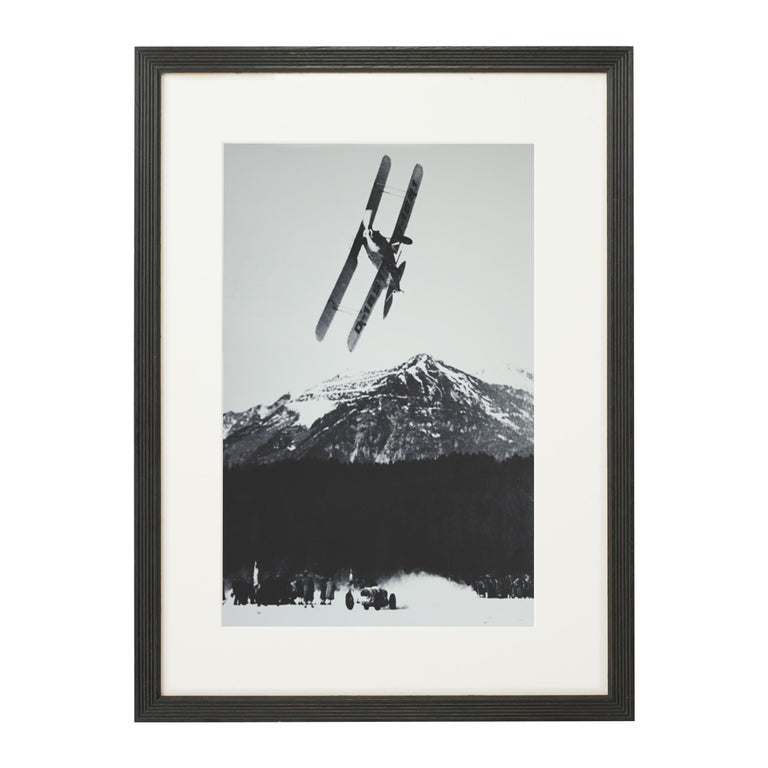 Alpine Ski Photograph, 'The Race' Taken from Original 1930s Photograph For Sale 2