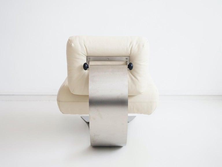 Alta Lounge Chair and Ottoman by Oscar Niemeyer 5