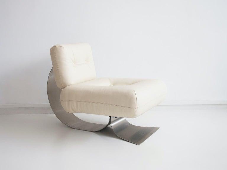 Alta Lounge Chair and Ottoman by Oscar Niemeyer 1