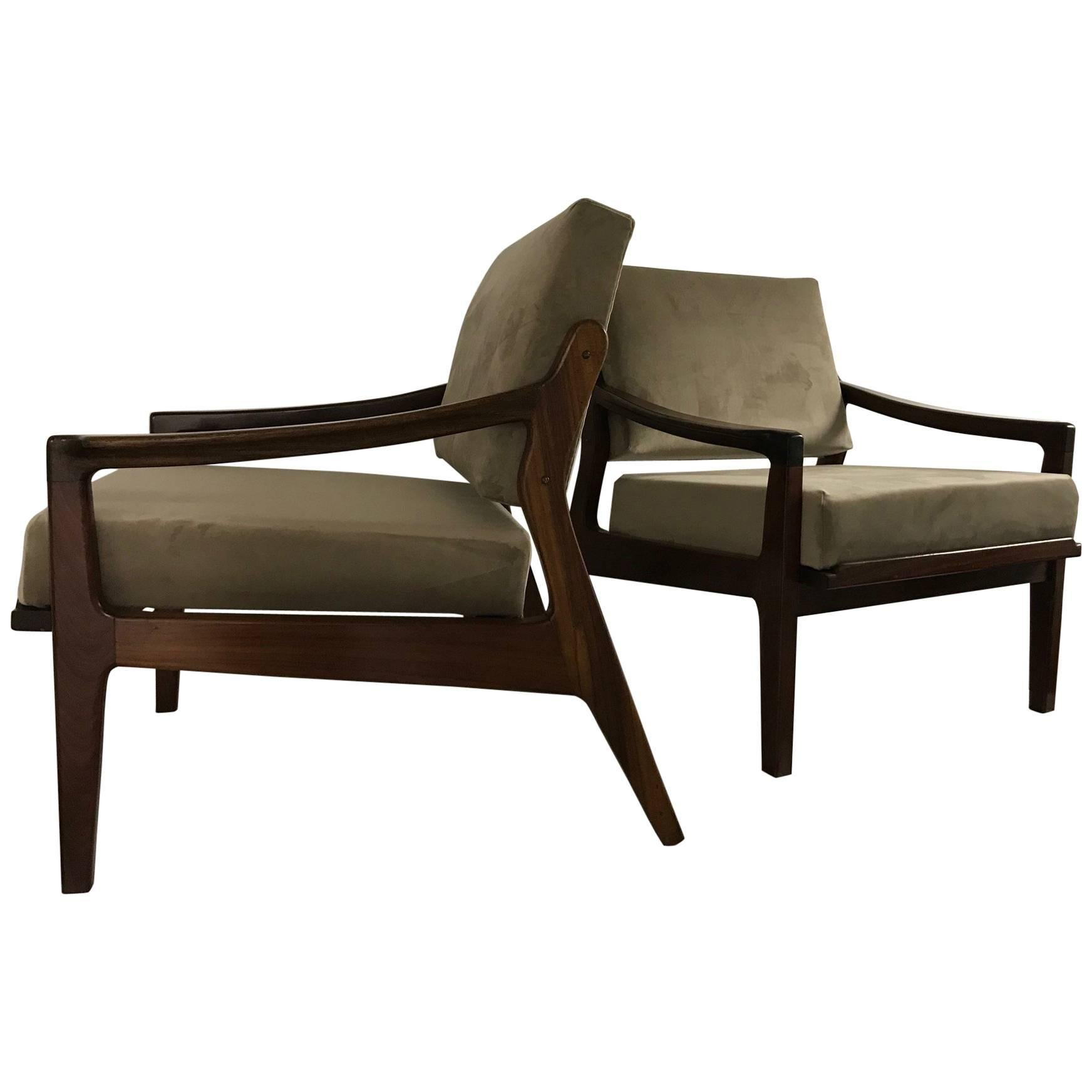 Altamira Armchairs, Portugal, 1960s