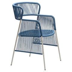 Altana SP Blue Chair by Antonio De Marco
