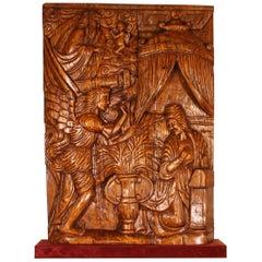 Altarpiece Representing The Annunciation, North of Portugal, circa 1600