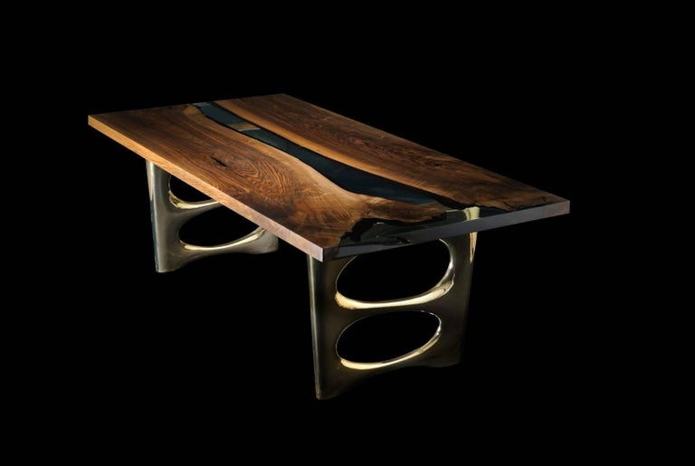 Altin 200 Epoxy Resin Dining Table For Sale At 1stdibs