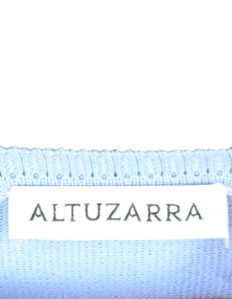 Altuzarra Lemon Embroidered Lightweight Sweater sz XS In Excellent Condition For Sale In New York, NY